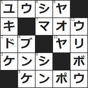 クロスワード (1)RPGの主人公に多い